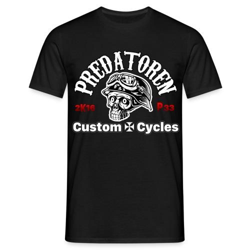 Der Predatoren Skull auf Deiner Klamotte - Männer T-Shirt