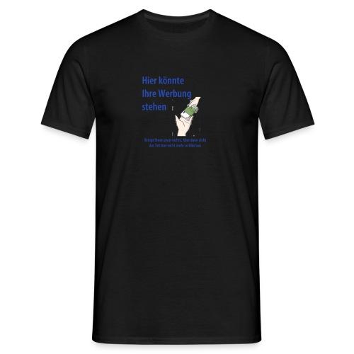 Werbung - Männer T-Shirt