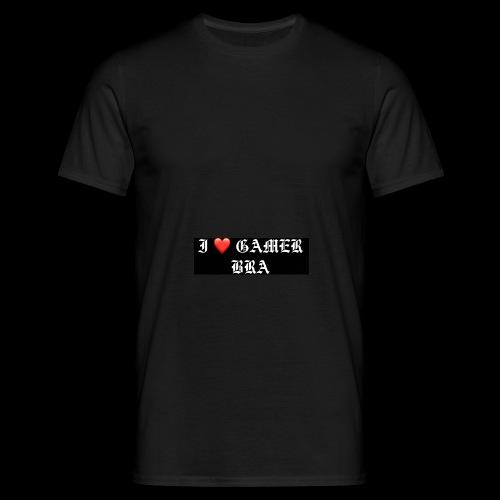 GAMER BRA YT - Männer T-Shirt