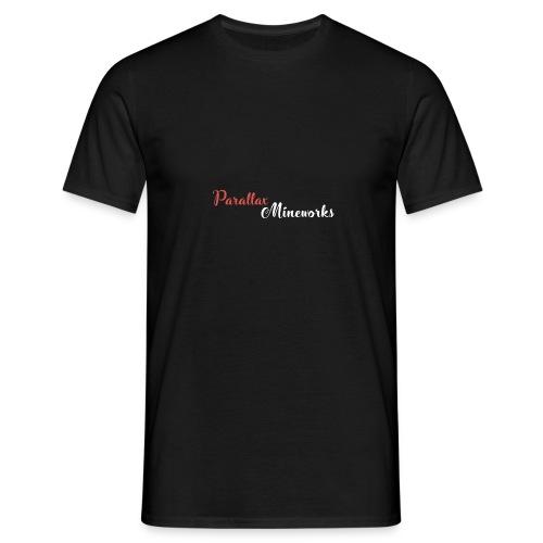 Parallax Mineworks logo - Men's T-Shirt