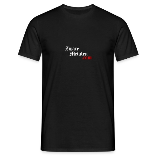 ZwareMetalen.com trapsgewijs - Mannen T-shirt