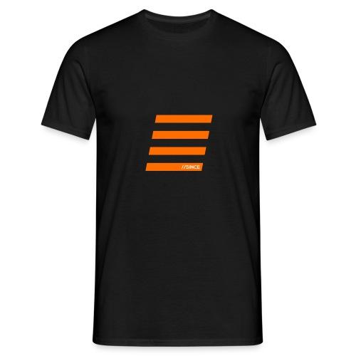 Orange Bars - Männer T-Shirt