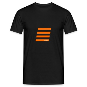 Orange Bars - Männer T-Shirt