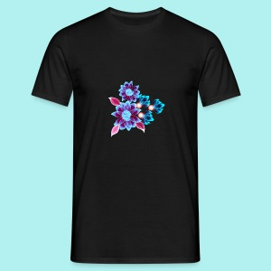 Hypnotic flowers - T-shirt Homme