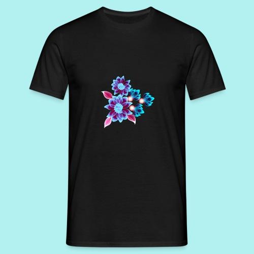Hypnotic flowers - T-shirt Homme