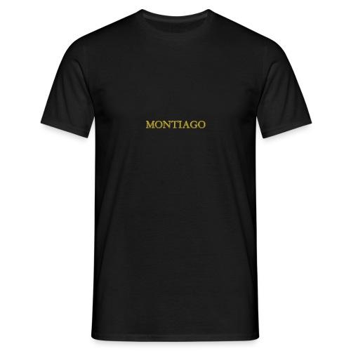 MONTIAGO LOGO - Men's T-Shirt