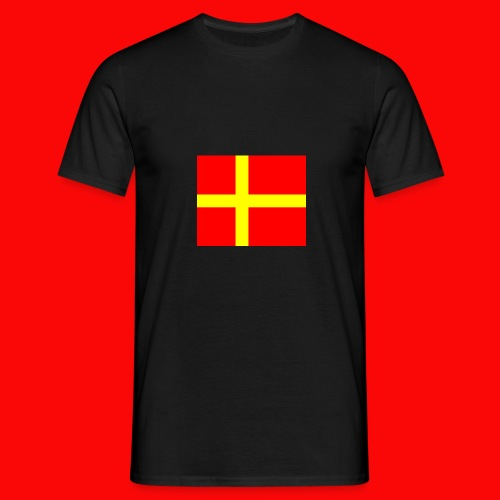 skanes flagga - T-shirt herr