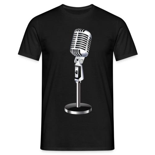 En Mikrofon T-Skjorte - T-skjorte for menn