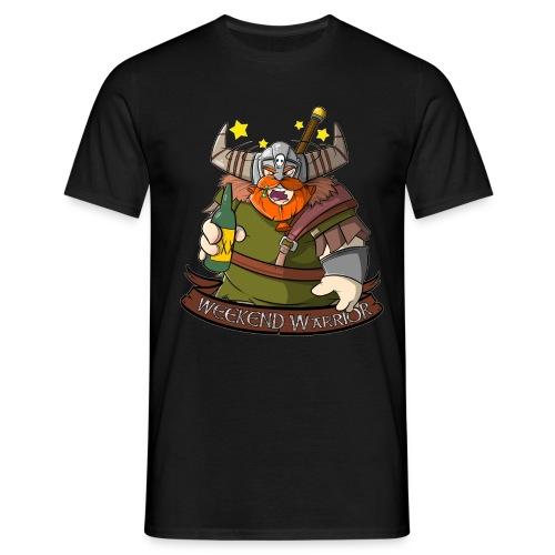 Weekend Warrior - Wikinger mit Bier am Wochenende - Männer T-Shirt