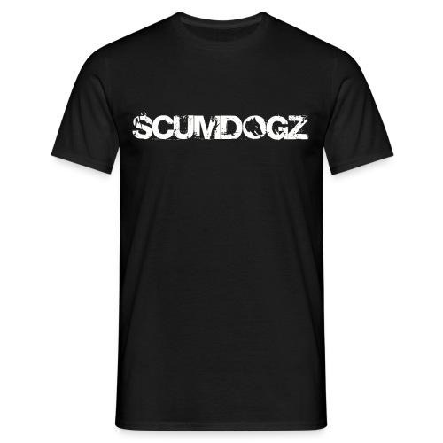 SCHRIFTZUG SCUMDOGZ - Männer T-Shirt