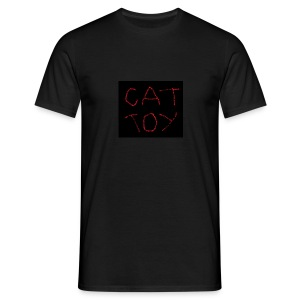 cat toy - Männer T-Shirt