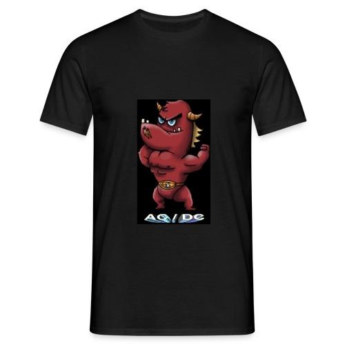 rock A c dc - Camiseta hombre