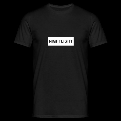 NIGHTLIGHT BOX LOGO (DAY) - Men's T-Shirt