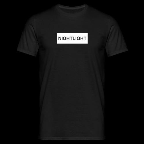 NIGHTLIGHT BOX LOGO (DAY) - Men's T-Shirt