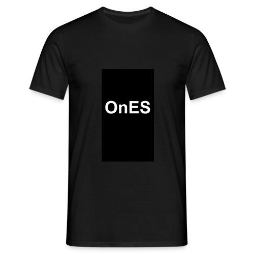 OnES Black - Männer T-Shirt