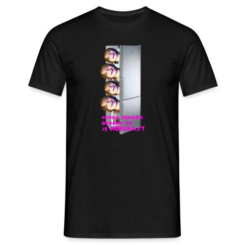 #enge_dingen_in_je_koel_kast - Mannen T-shirt