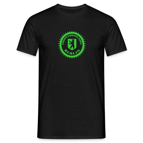 Logo klein ESU transp Green - Männer T-Shirt