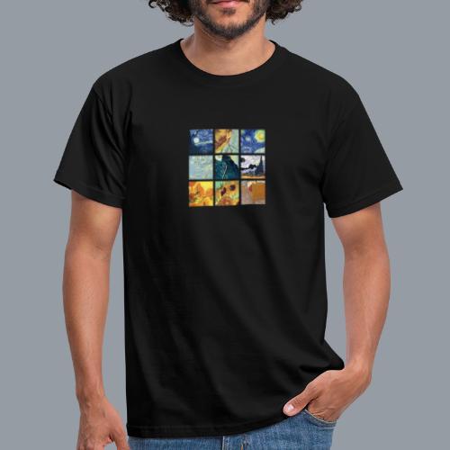 VAN GOGH COLLAGE - Camiseta hombre