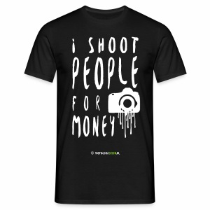 I shoot people! - Men's T-Shirt