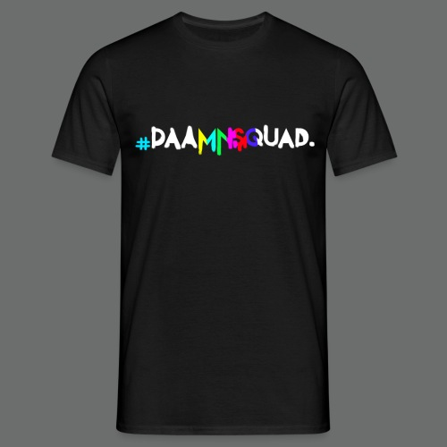 daamnsquad font - Männer T-Shirt