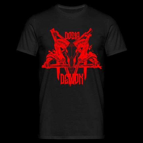 Dosia Demon Baphomet Logo - Männer T-Shirt