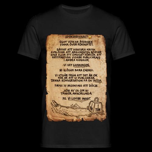 VI LOVAR INGET-Tröjan - T-shirt herr
