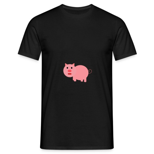 Pig Mad - Men's T-Shirt