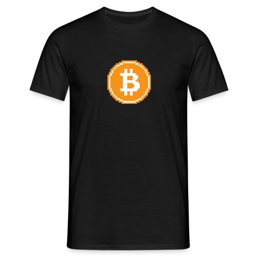 CryptoFR Bitcoin pixel art - T-shirt Homme