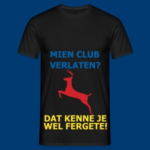 Dit is mien club! - Mannen T-shirt
