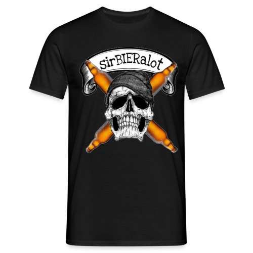 sirBIERalot - Männer T-Shirt