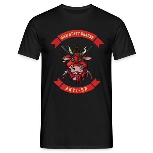 Anti-Shirt - Bier statt Brause, Fussball Ultras - Männer T-Shirt