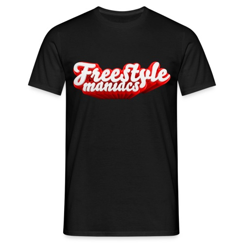 Freestyle Maniacs red - Mannen T-shirt
