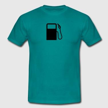pompy stacji benzynowej zatankować - Koszulka męska