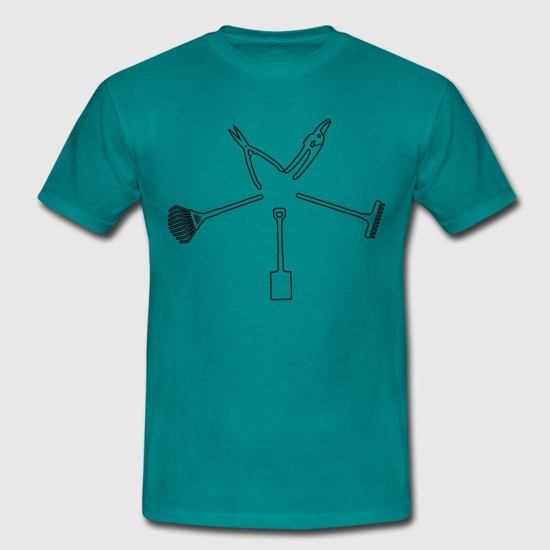 Garden tuingereedschap - Mannen T-shirt