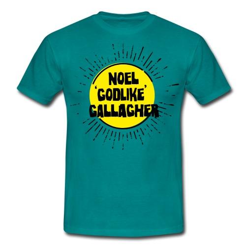 Noel Gallagher 'Godlike' - Black on Yellow - Maglietta da uomo