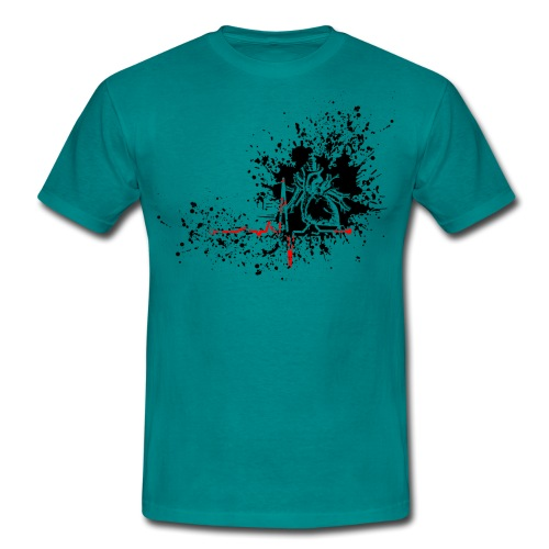 Trash polka ECG - T-shirt Homme