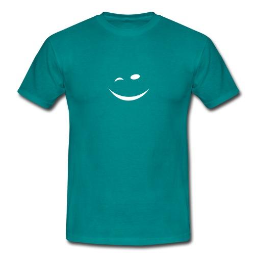 Zwinkersmiley - Männer T-Shirt