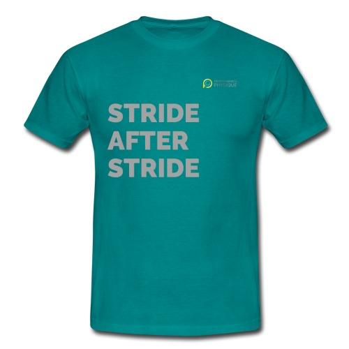 STRIDE after stride - Men's T-Shirt