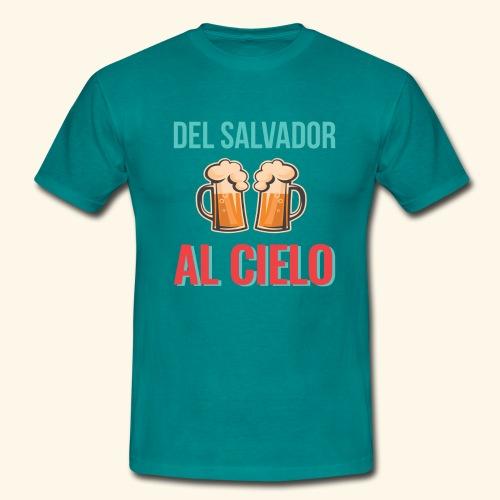 Cervecita en el Salvador - Camiseta hombre