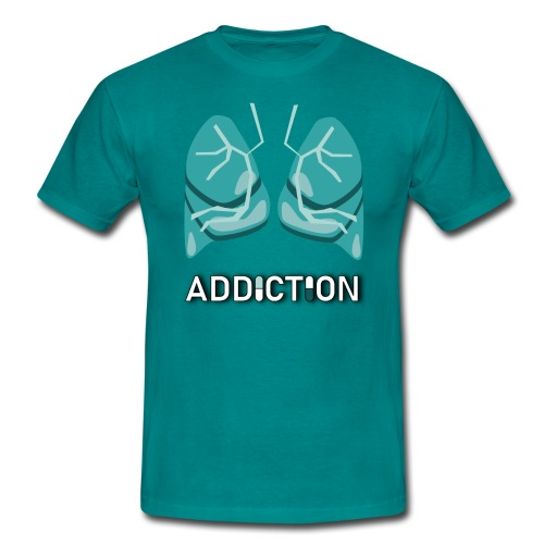 Addiction - Lungs - T-shirt herr