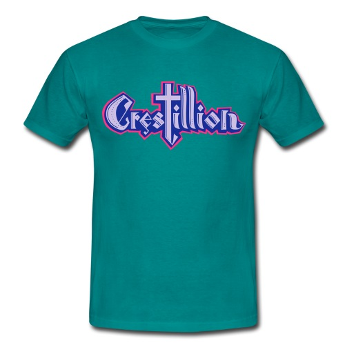 Crestillion Logo 3c - Men's T-Shirt