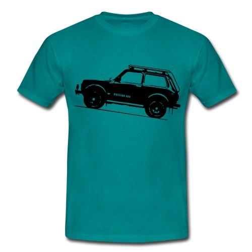 Lada Niva 2121 Russin 4x4 - Männer T-Shirt