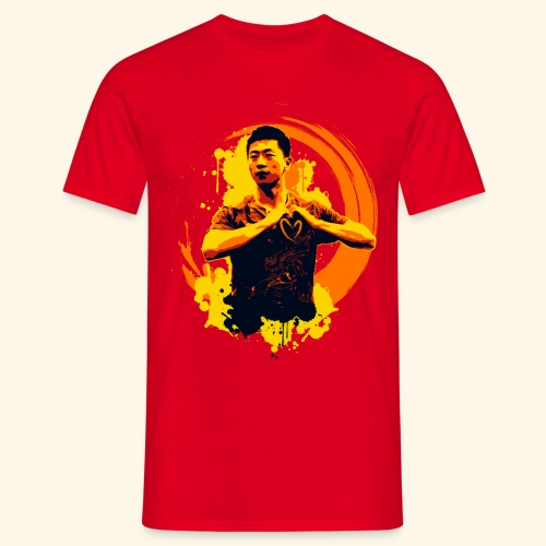 I heart table tennis championship - Männer T-Shirt