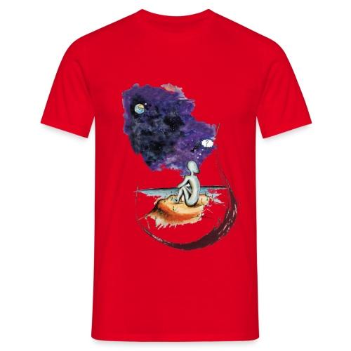 Extraterrestre en contemplation - T-shirt Homme