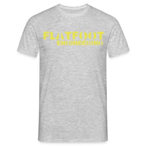 FlatFootLogo - T-shirt herr
