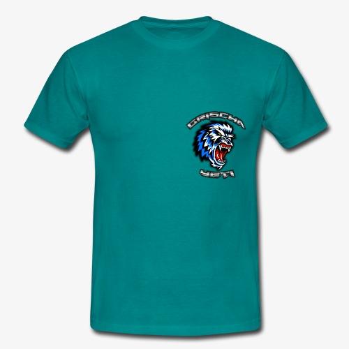 GrischaYeti Logo - Männer T-Shirt