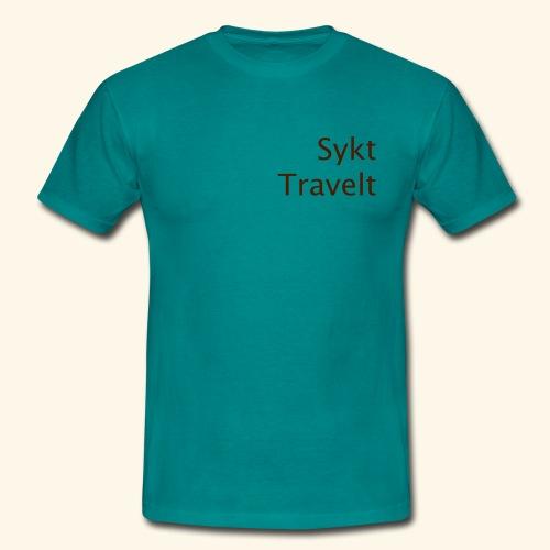 Sykt Travelt - T-skjorte for menn