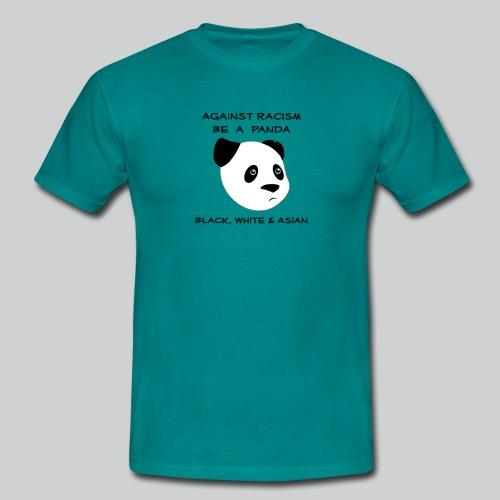 Against Racism Panda - Männer T-Shirt