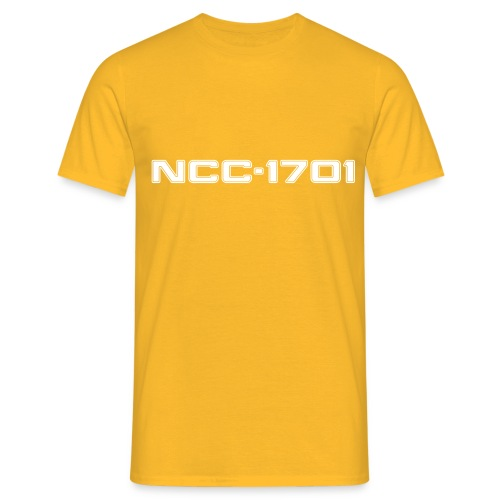 NCC-1701 White - Men's T-Shirt