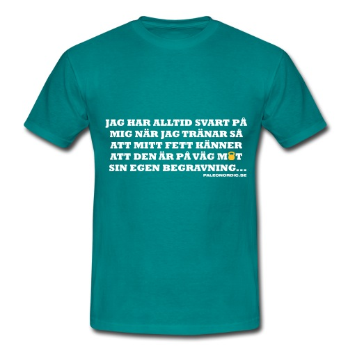 begravning - T-shirt herr